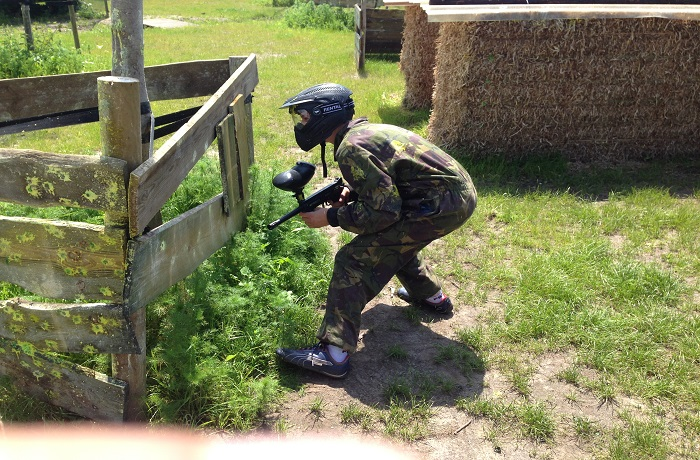 Paintball & smikkelen