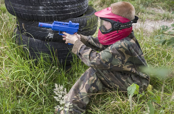 Junior paintball